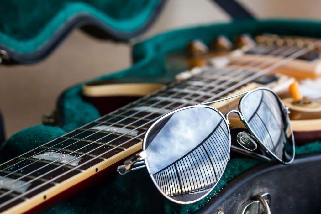 E-Gitarre im Koffer