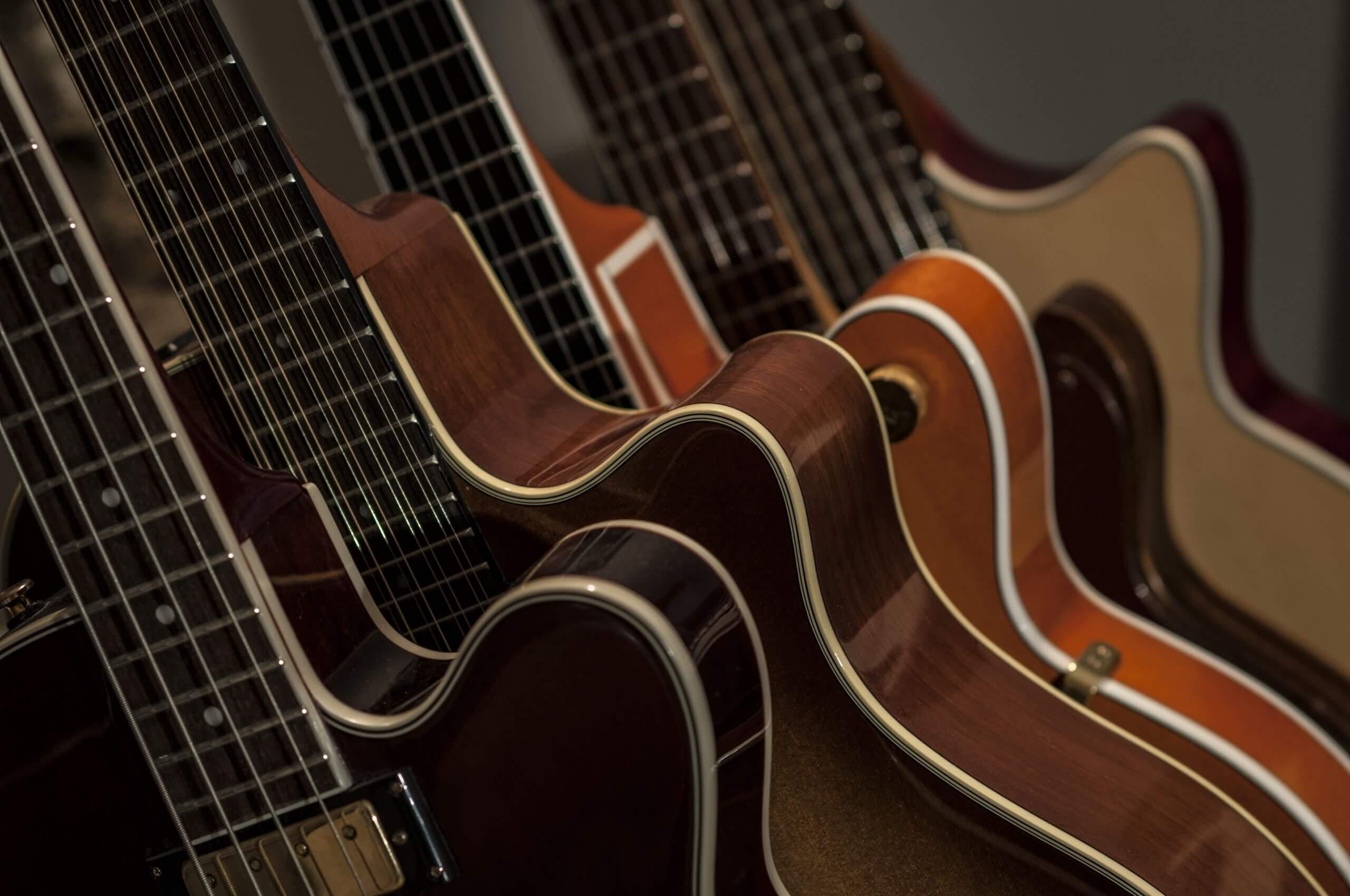 E-Gitarren Modelle und Formen