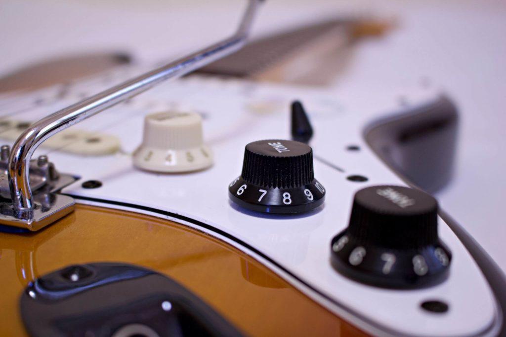 Pickup-Switch einer Fender Stratocaster E-Gitarre