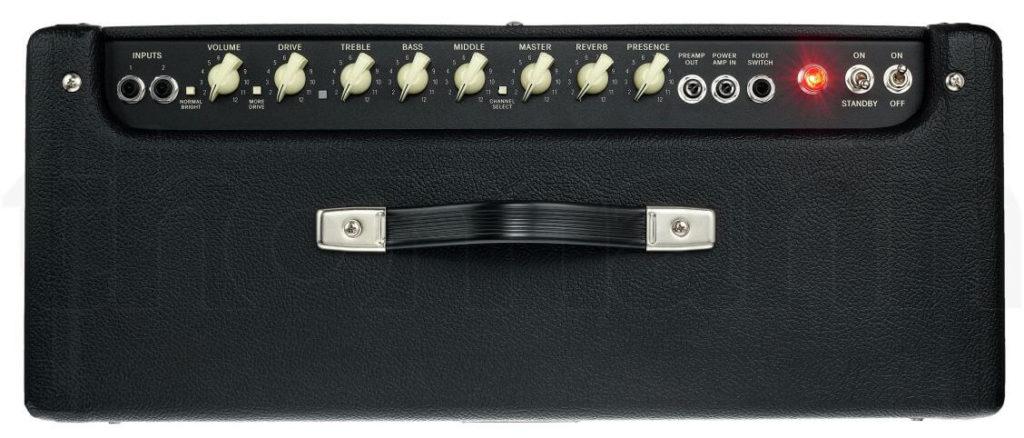 Bedienfeld des Fender Hot Rod Deluxe IV