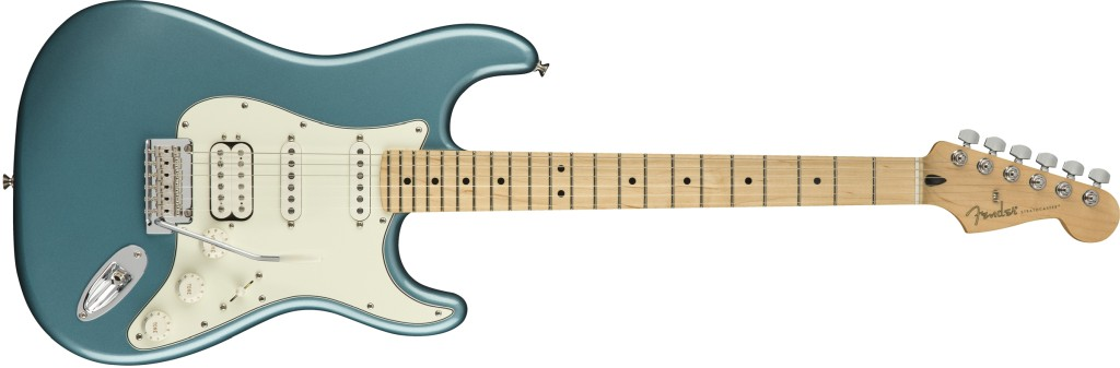 Player Stratocaster HSS in der Farbe Tidepool
