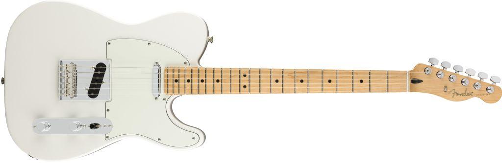 Fender Player Series Tele in weiß (Polar White)