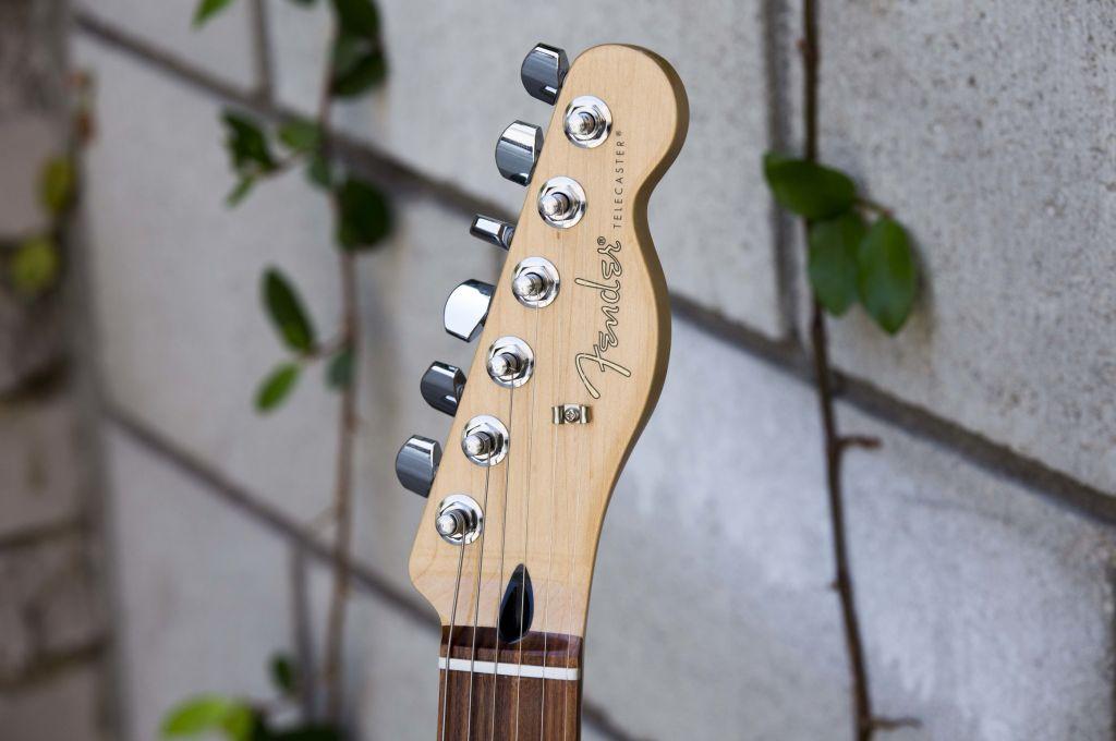Fender Player Series Telecaster Kopf und Stimmmechaniken