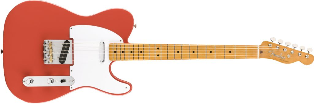 Fender Vintera '50s Telecaster in Fiesta Red