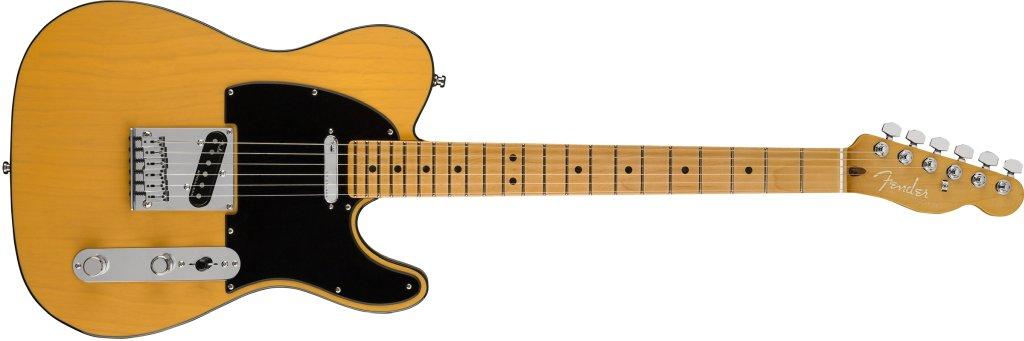 Fender American Ultra Telecaster in Butterscotch Blonde