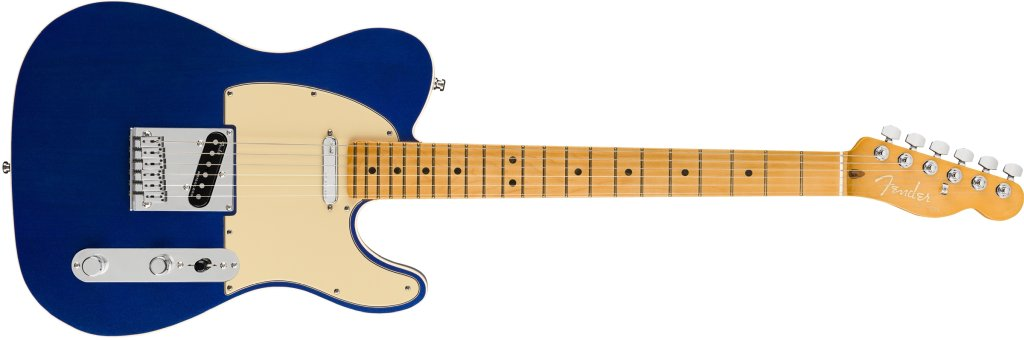 Fender American Ultra Telecaster in Cobra Blue