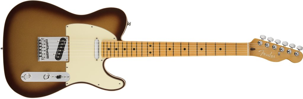 Fender American Ultra Telecaster in Mocha Burst